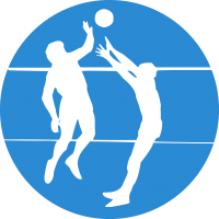 Mixed Volleyball Training Session